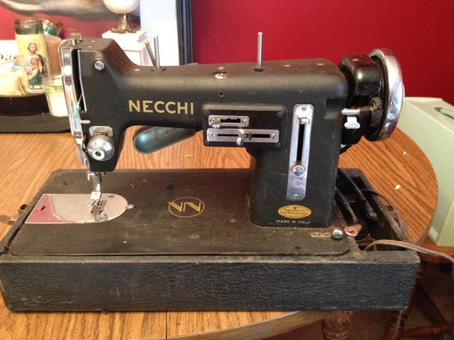 sewing machine obsession – a word is elegy to what it signifies on