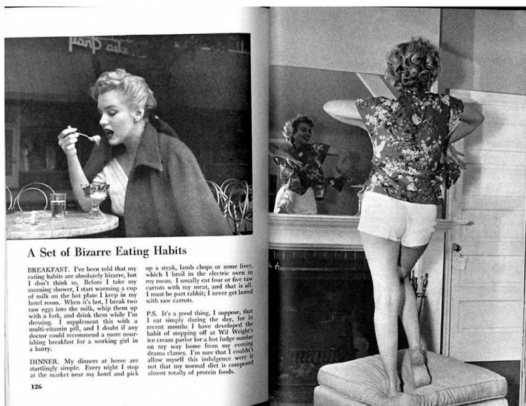 marilyn-monroe-diet
