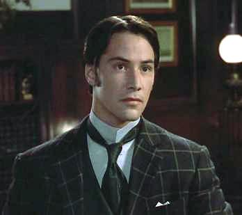 Poor Keanu is the most vanilla boring character in this movie. But I'd rock his look.