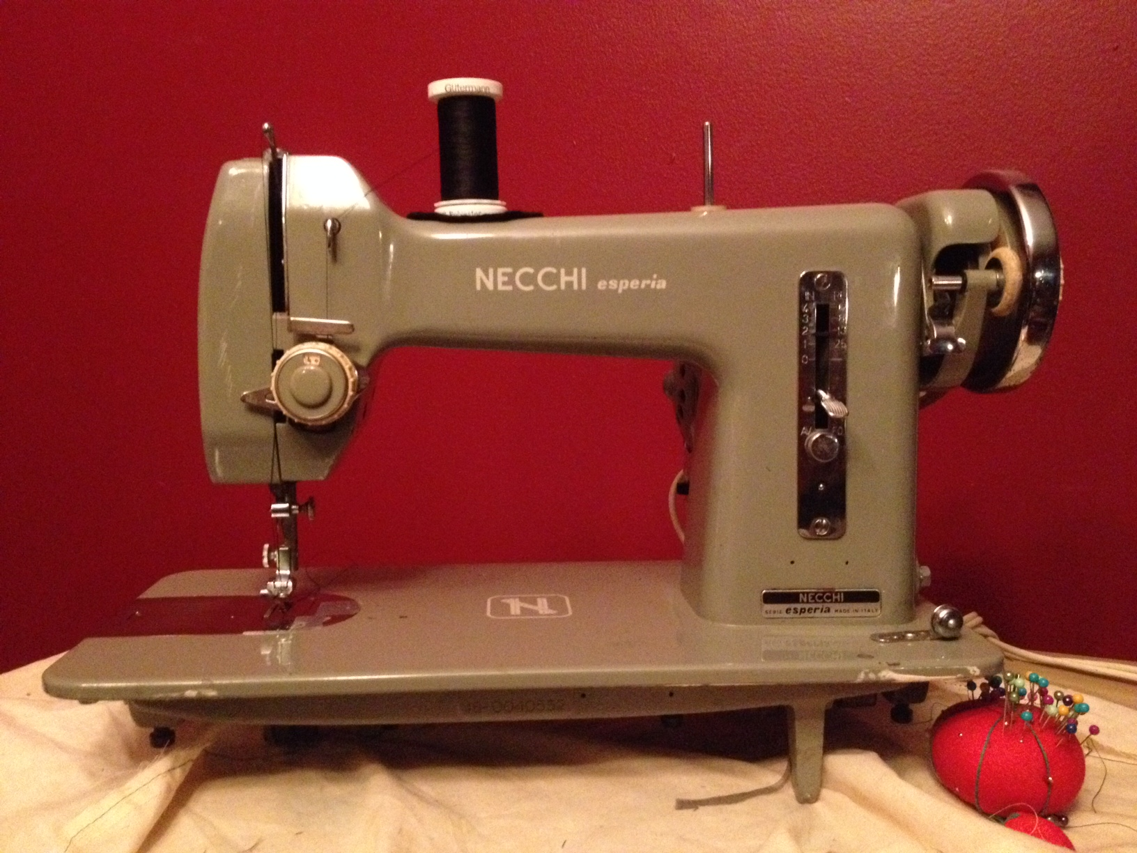 Necchi Esperia A Word Is Elegy To What It Signifies Thread Sewing Machine Diagram Labeled Theres Something I Love About The Simplicity Of Straight Stitch So Much Less Go Haywire In Mechanics And Seems Like Working