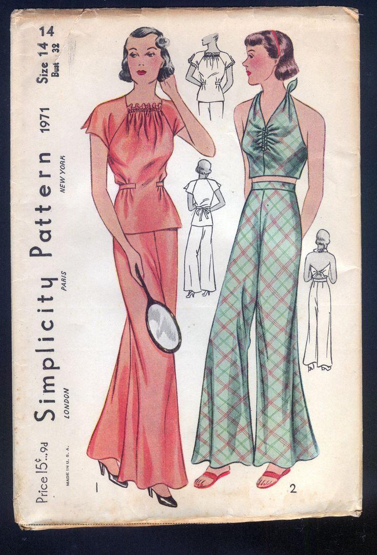 Weekend sewing project palazzo pants and secretary blouses a palazzo1 jeuxipadfo Choice Image