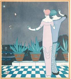 1911- george lepape - poiret designs