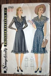 simplicity 3763 1940s