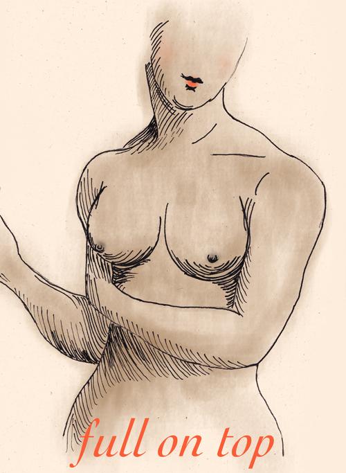 full on top breast - blue hours atelier breast shape guide
