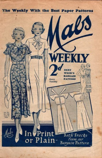 mabs weekly 1930s 2