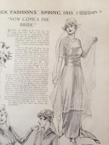 butterick-fashions-of-1915-ww1-era bridal gown 05