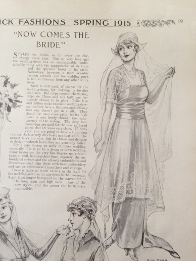butterick-fashions-of-1915-ww1-era bridal gown 05