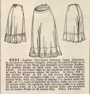 lingerie of 1915 butterick 5591 drawers 2