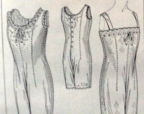 lingerie of 1915 butterick combination 2